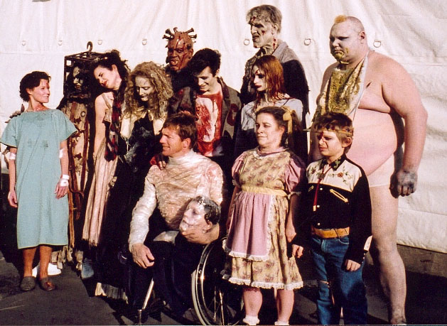 Behind the Scenes of 13 GHOSTS! A frightfully gory Experience! C Ernst Harth