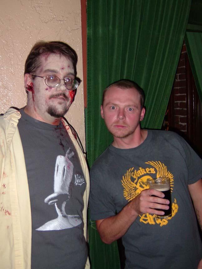 Simon Pegg Land Of The Dead