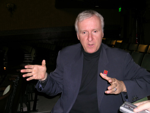 James cameron calling fan an asshole