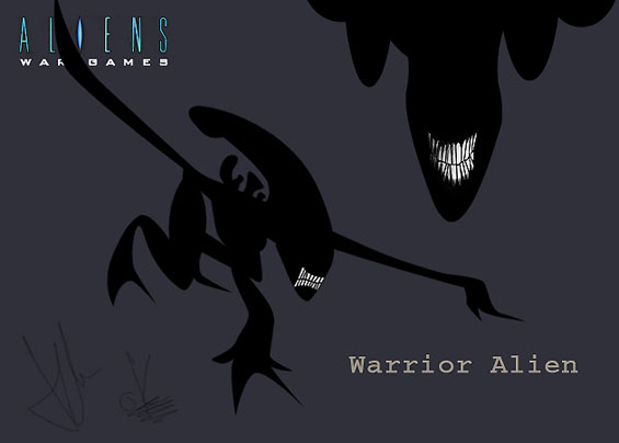 Inspired animated project, a-la clone wars?? so desires one company