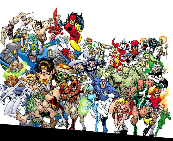 X Men Characters Comic It would probably be X-Men