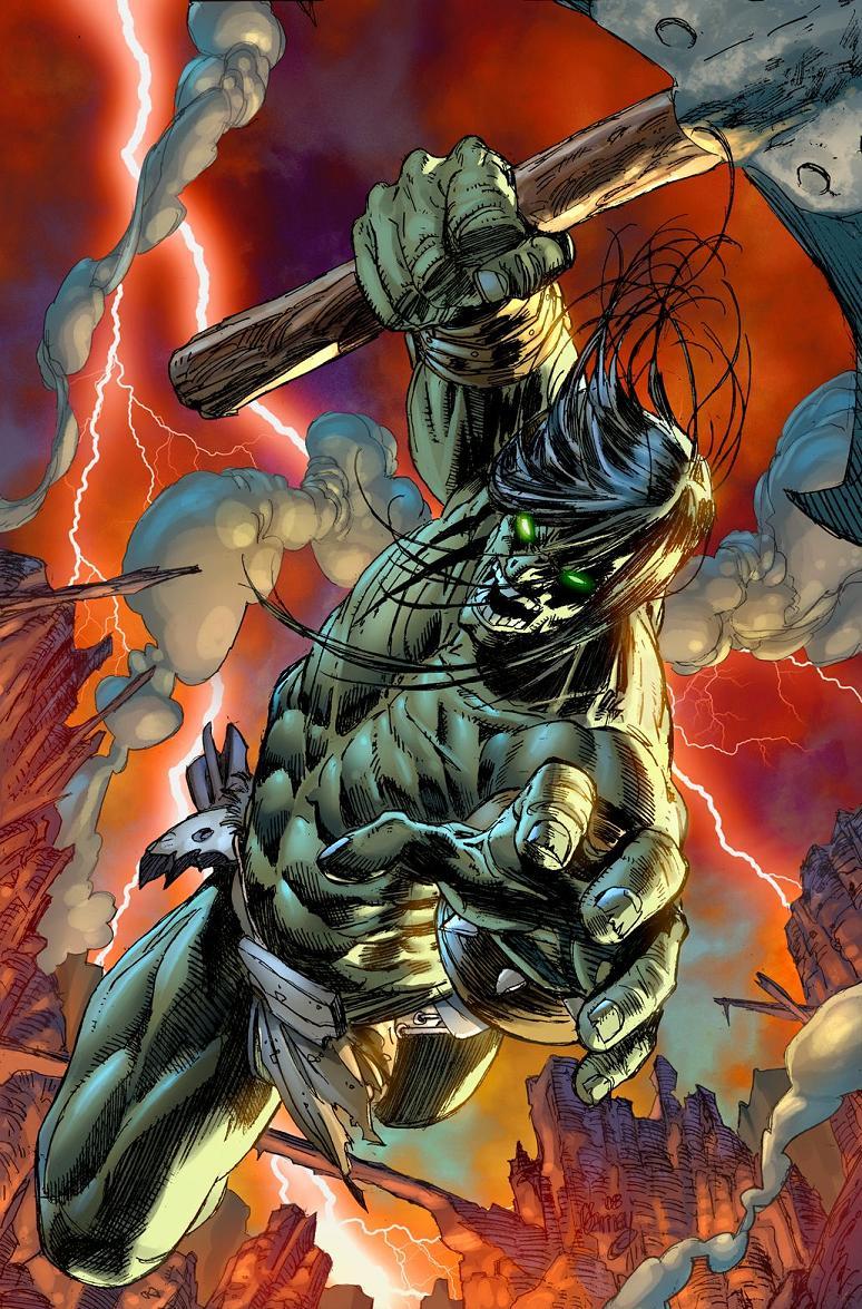 Aicn Comics Shoot The Messenger 10 Pg Preview Of Skaar