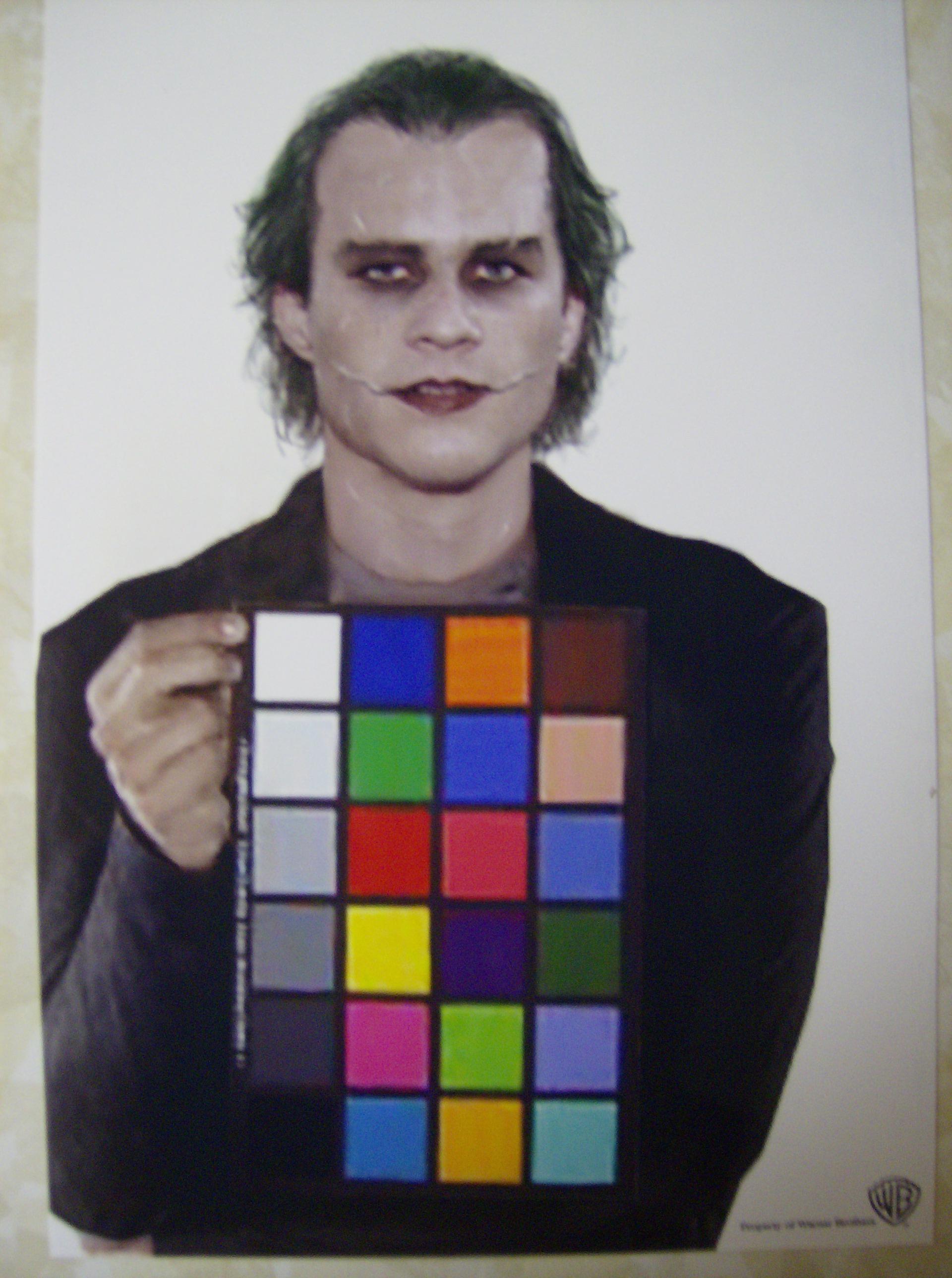 Heath Ledger Transformation Into The Joker