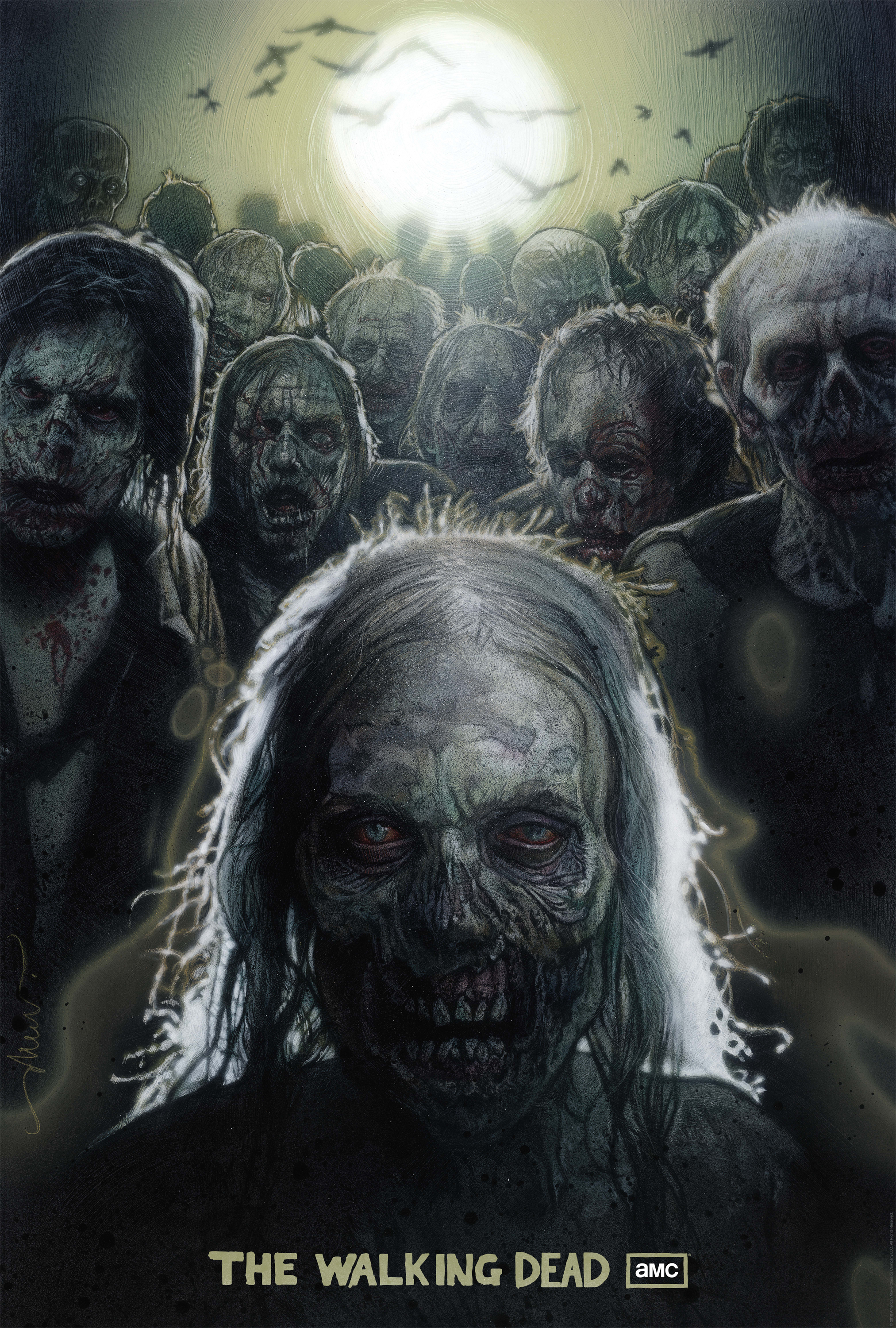 Free zombie wallpapers for android phone gadget and pc wallpaper zombie hand live wallpaper screenshot thumbnail source aicn exclusive check out drew struzan s walking dead comic con voltagebd Gallery