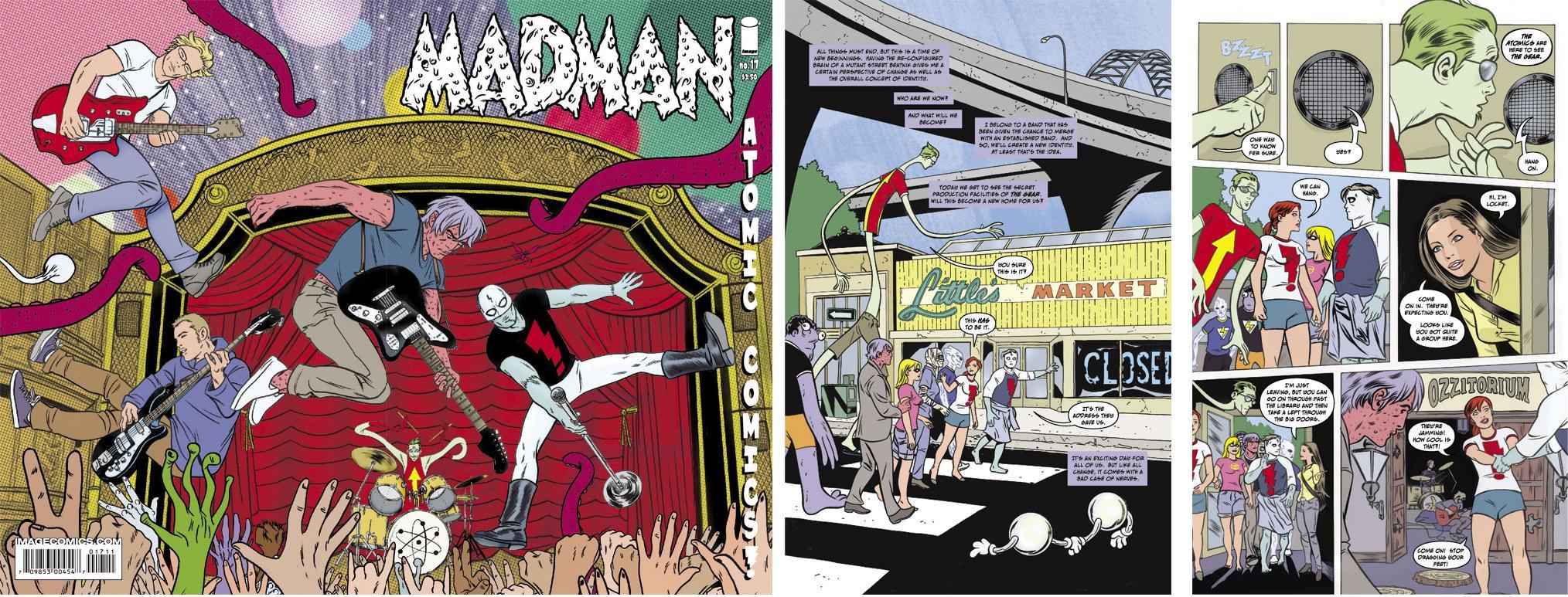 Logan Paul Red Challenger >> AICN COMICS STM Previews TITANIUM RAIN! DARKNESS/PITT! SPIDER-WOMAN! MADMAN! ATOMIC ROBO! OLD MAN...