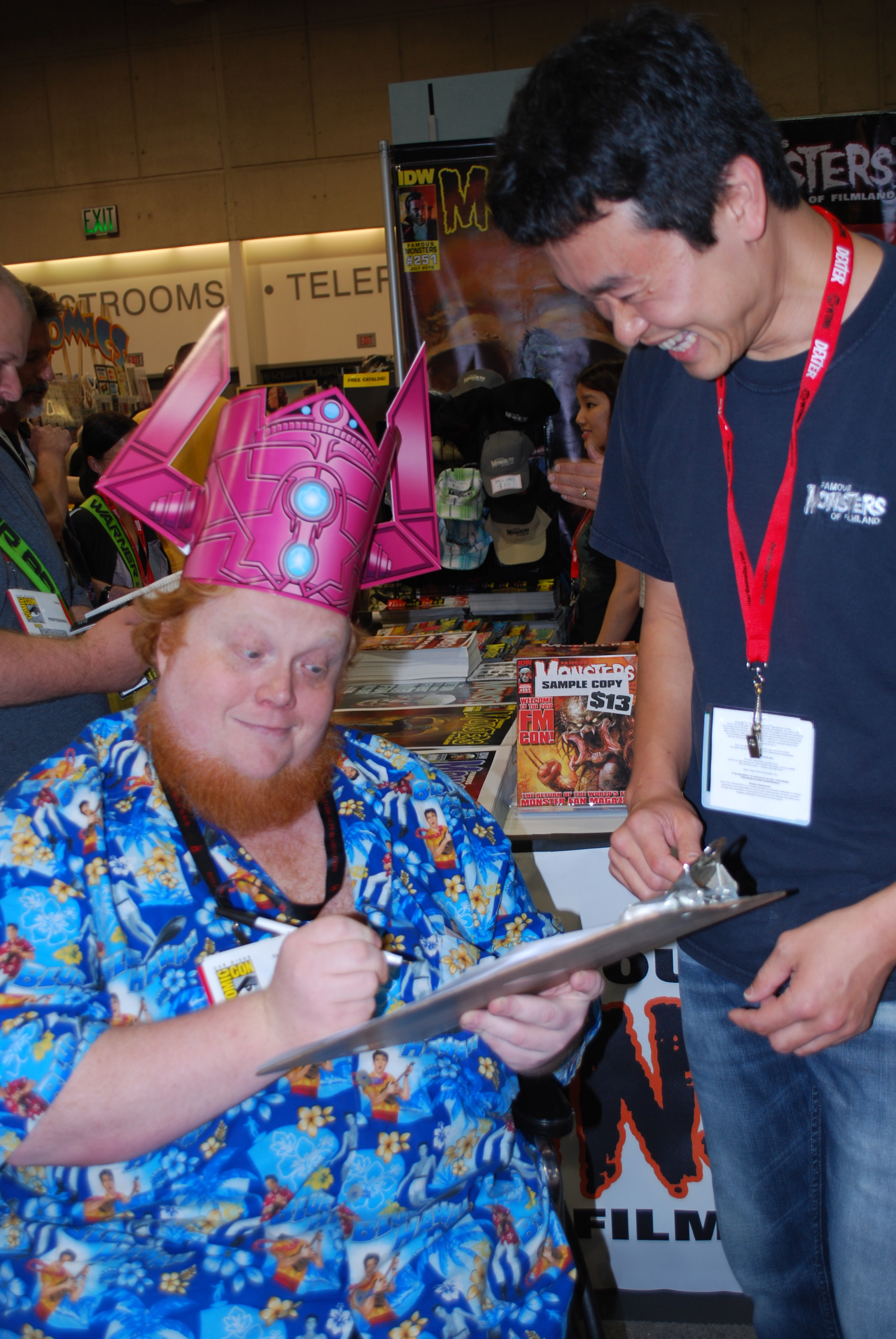 aint it cool amp harry knowles take over famousmonsterscom
