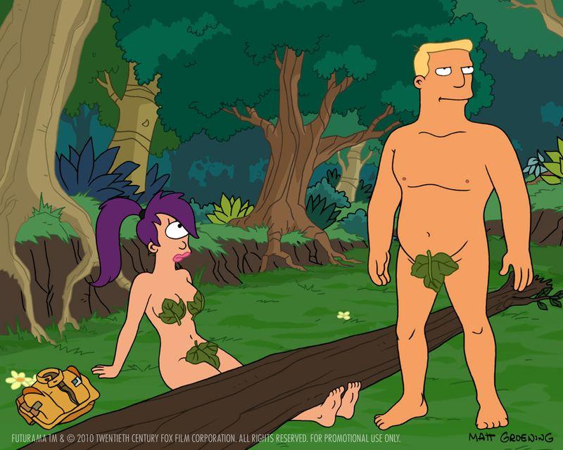 Nackt futurama sexy Cartoon Sex