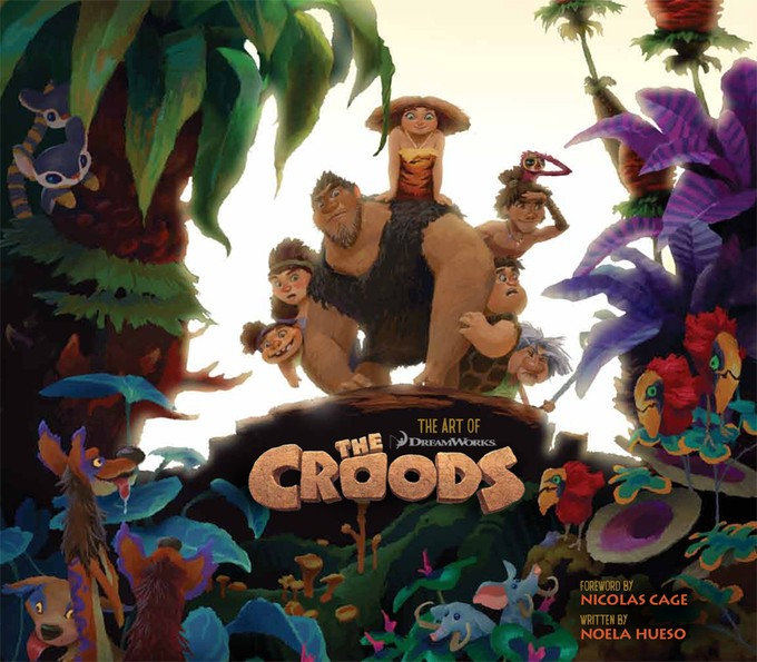 Art of CROODS cover