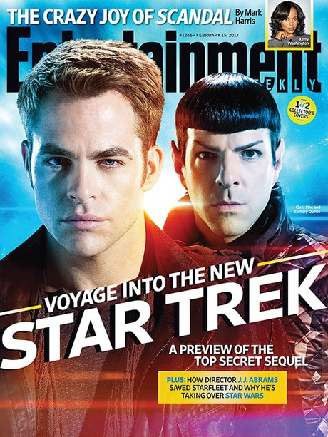 EW's new STAR TREK INTO DARKNESS cover
