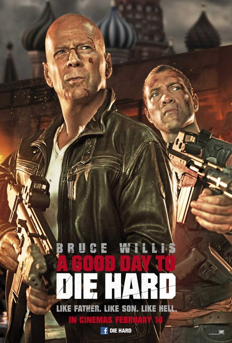 A GOD DAY tO DIE HARD POSTER 