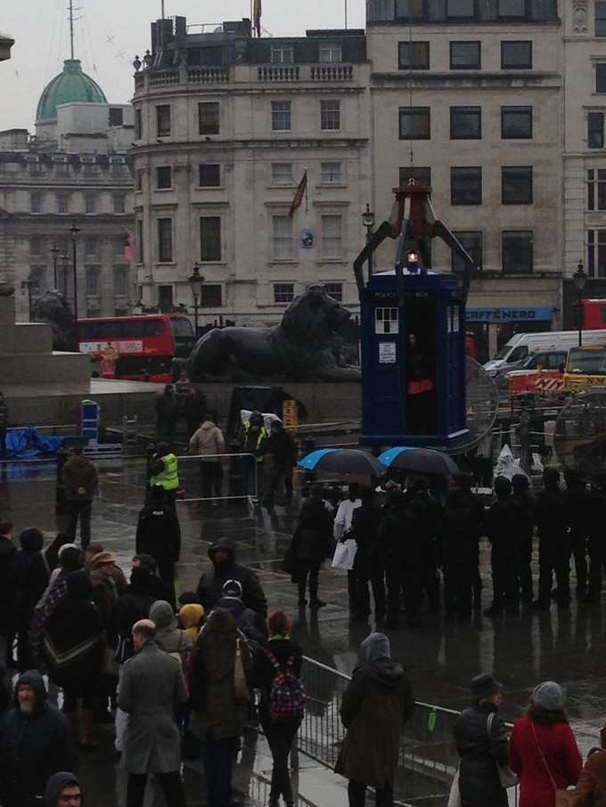 DOCTOR WHO 50th filming photo #3 of 3