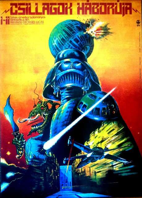 hungarian star wars poster