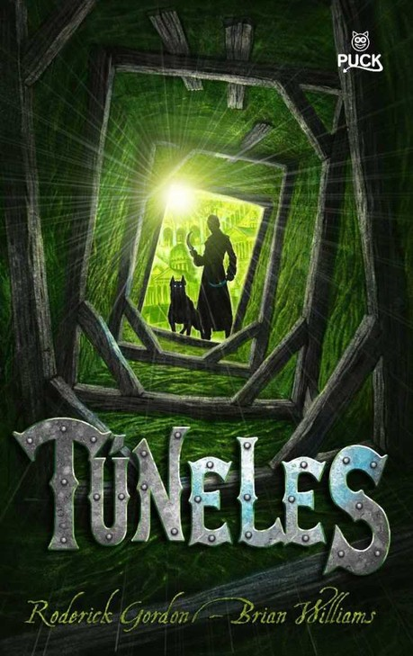 Tunnels book cover 