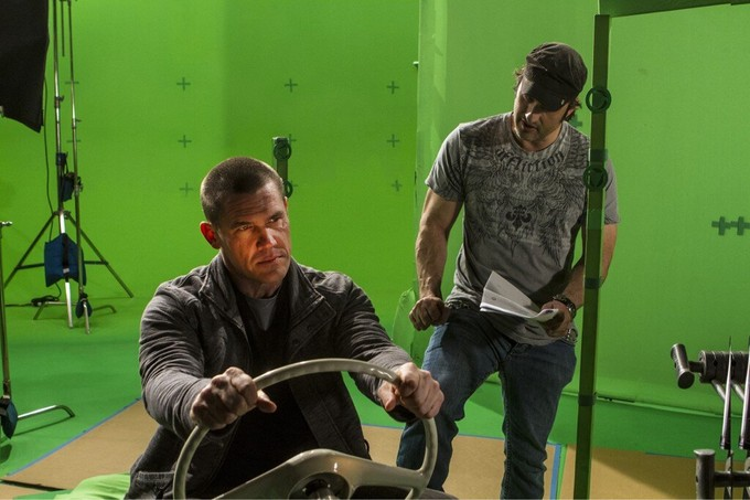 Brolin SIN CITY 2 green screen