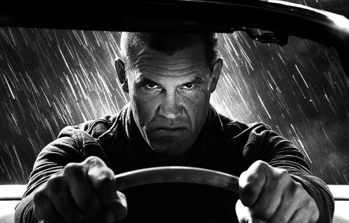 Brolin SIN CITY 2 mock-up 