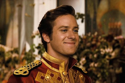 Armie Hammer Uniform