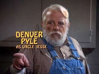 Denver Pyle Uncle Jesse