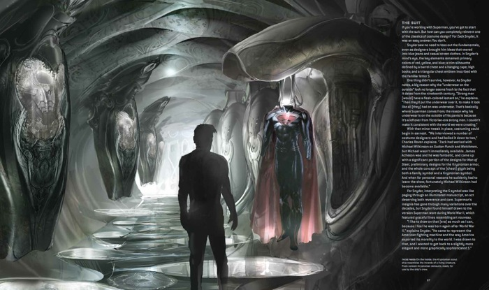 Man of Steel Fortress of Solitude