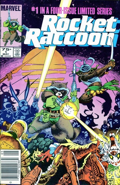 Rocket Raccoon Cover