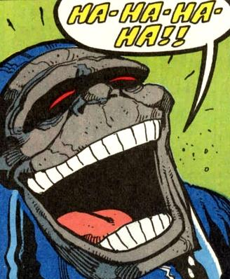Darkseid Laughs