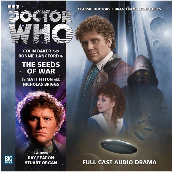 DOCTOR WHO: The Seeds of War Big Finish Audio cover