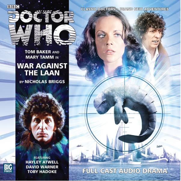 DOCTOR WHHO- War Against The Laan Big Finish Cover