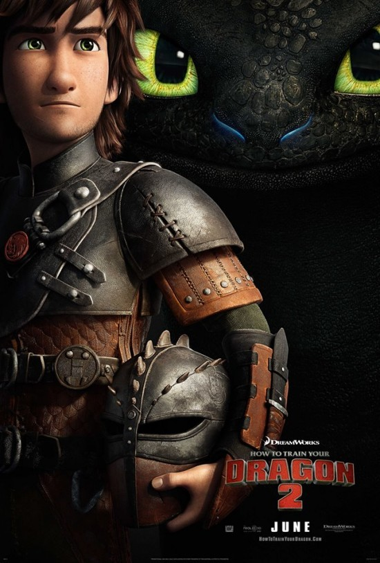 The first poster for HOW TO TRAIN YOUR DRAGON 2 is here!!!