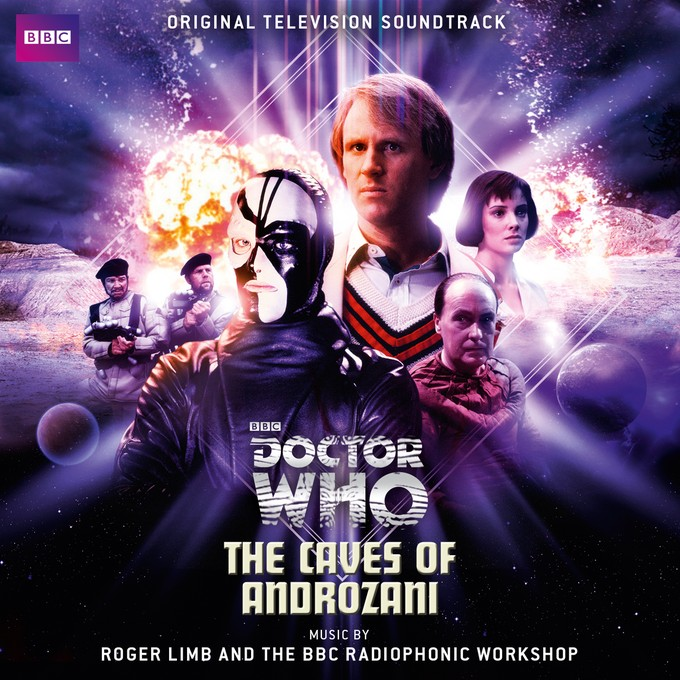 DOCTOR WHO - Androzani CD cover