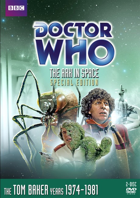 DOCTOR WHO Ark in Space DVD cover