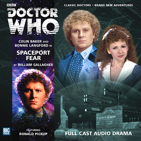 Big Finish Spaceport Fear cover