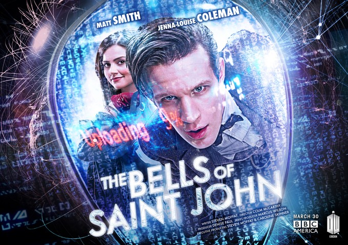 DOCTOR WHO-Bells of Saint John Poster