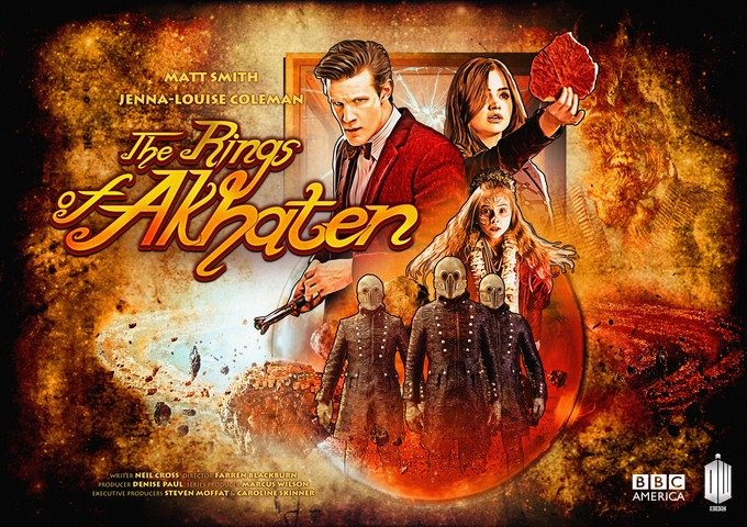 DOCTOR WHO - The Rings Of Akhaten Poster