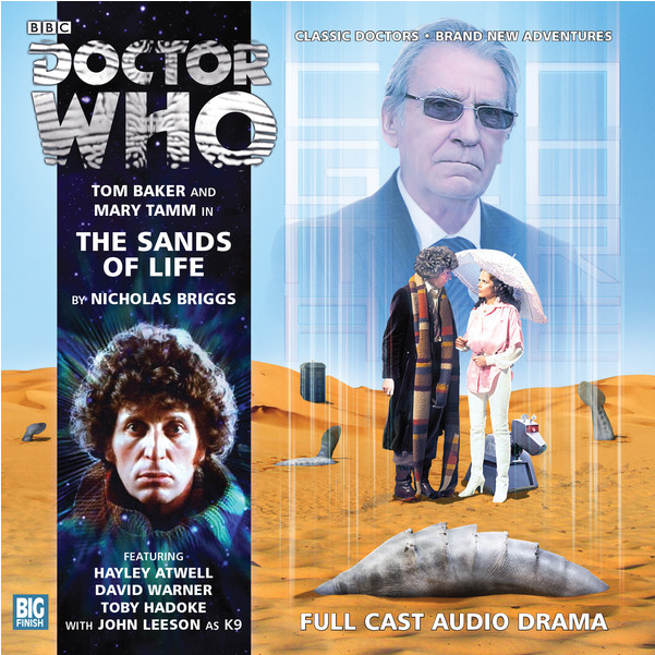 DOCTOR WHO Sands of Life CD Audio Cover