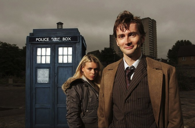 DOCTOR WHO Tennant/Piper promo