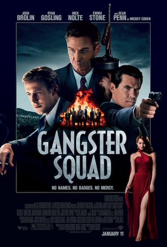 GANGSTER SQUAD One Sheet