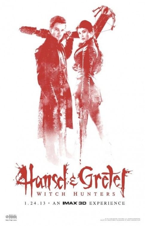 Hansel &amp; Gretel: Witch Hunters poster 