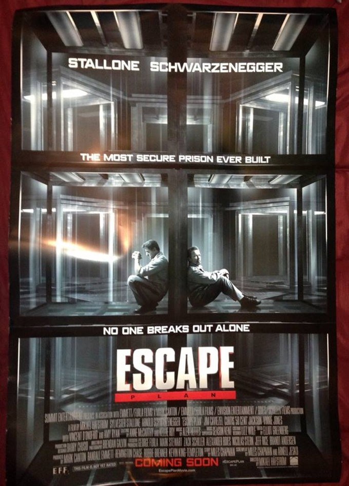 Escape Plan (2013) Poster