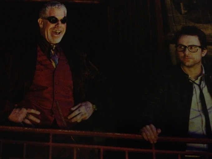 Harry discusses his PACIFIC RIM set visit!!! Lots of images textual drooling!