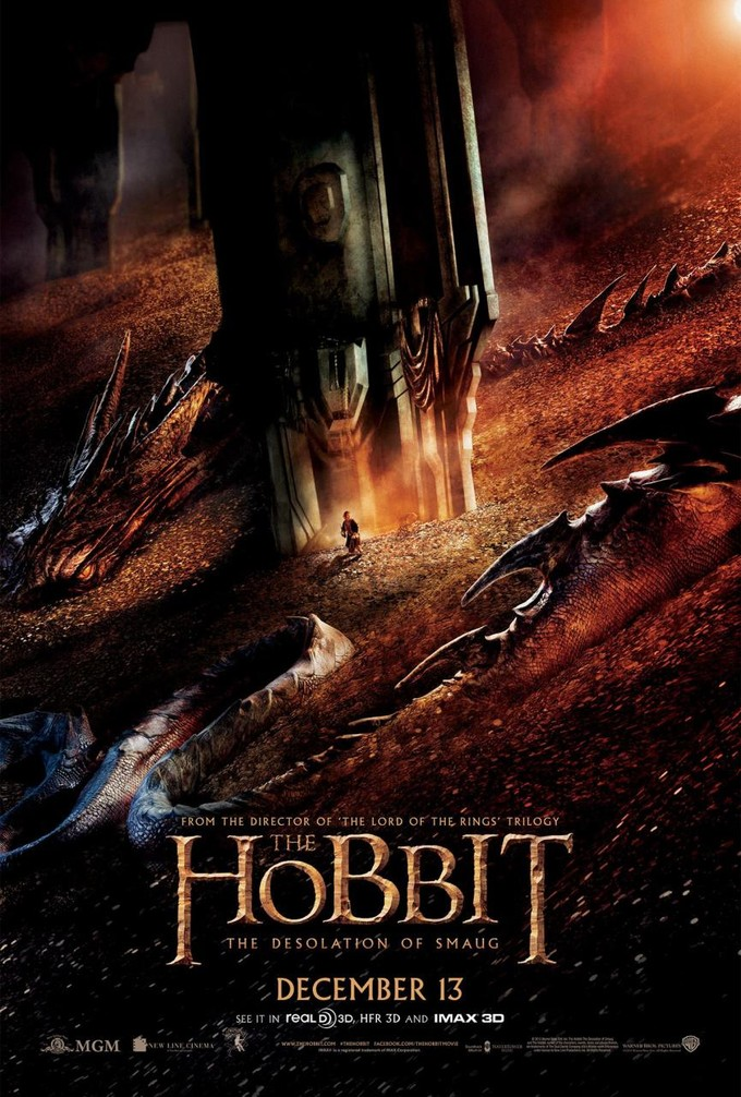 Hobbit Movie Smaug Tolkien's the hobbit and i Necromancer Hobbit Desolation Of Smaug