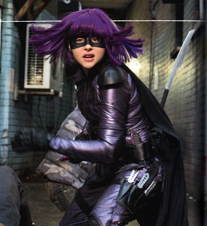 Chloe Moretz as Hit Girl in KICKASS 2