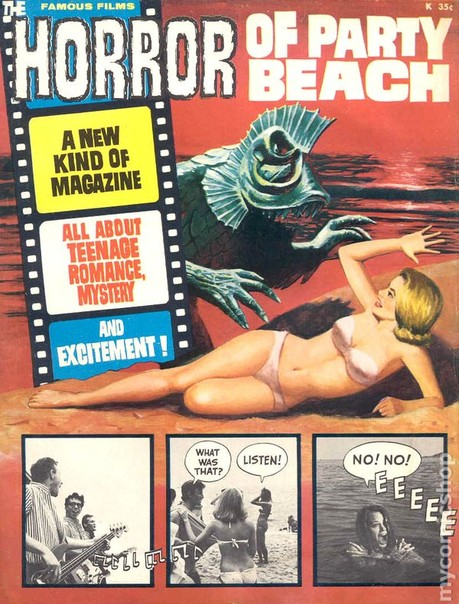 Horror Of Party Beach magazine