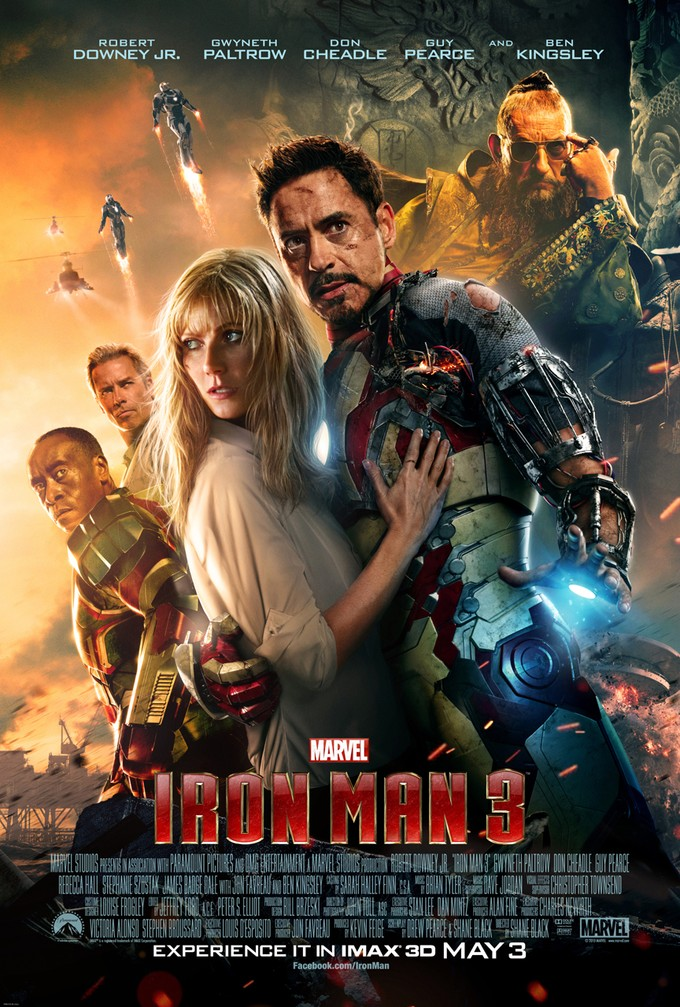 Iron Man 3 IMAX Poster 