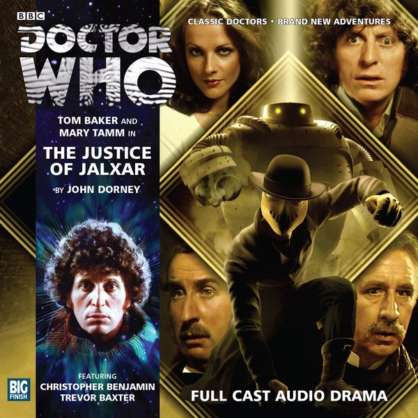 DOCTOR WHO -THe Justice of Jalxar Big Finish Audio Cover