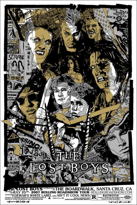 Tyler Stout's LOST BOYS Poster 2007