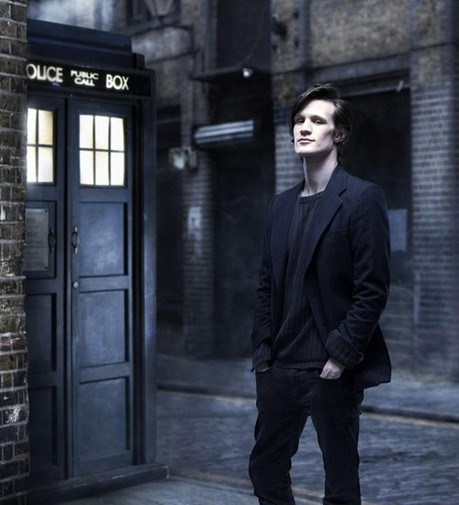 Matt Smith as the Doctor (publicity shot)
