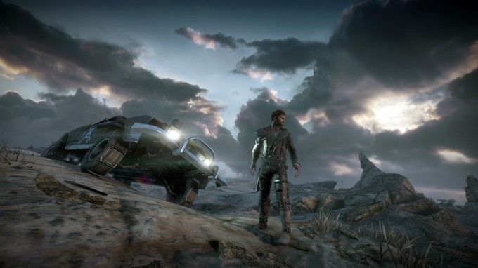 MAD MAX video game screen