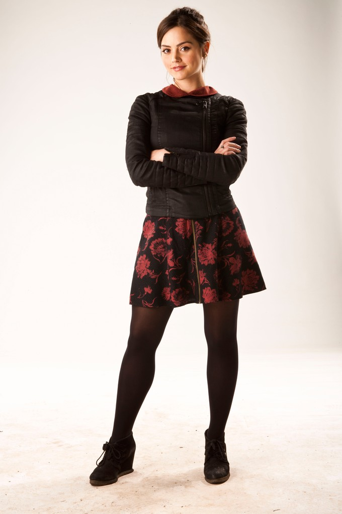 Jenna Coleman as Clara in DOCTOR WHO S7