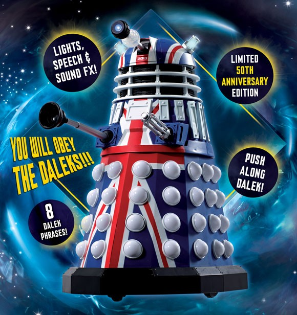 British Icon Dalek - 50th Anniversary Edition