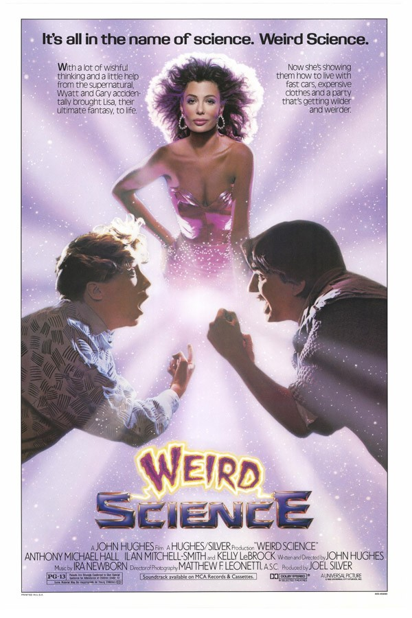 Weird Science - 1985 poster