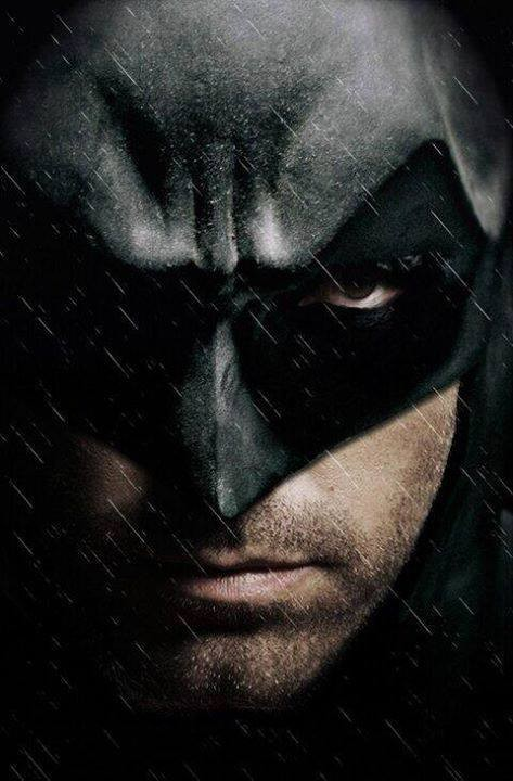 Affleck as Batman - Fan rendering